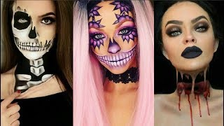 Video INCREIBLES MAQUILLAJES PARA HALLOWEEN #5 /  Easy Halloween Make Up 2017 download MP3, 3GP, MP4, WEBM, AVI, FLV Agustus 2018