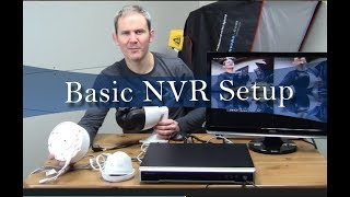 Hikvision NVR – Activation / Initial Setup / Add Cameras / Continuous Recording