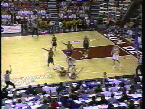 1996 NCAA Tournament - George Washington versus Iowa (Part 3)