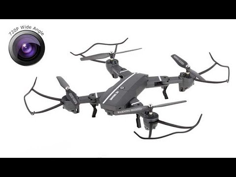 Фото Unboxing +Flying RC Moments 8807W FPV Foldable Drone - test clips