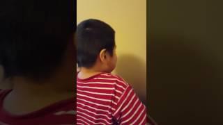 Daniel cantando jingle bells ya en enero jejeje
