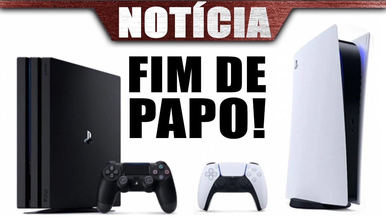 Sony bate o martelo e ACABA com DESINFORMAÇÃO sobre RETRO do PS5 definitivamente!