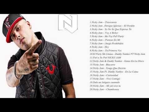 20 Mejores Exitos De Nicky Jam
