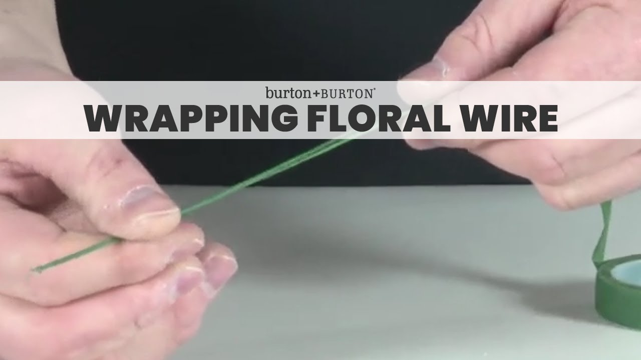 Wrap Floral Wire - Wiring Diagram Database