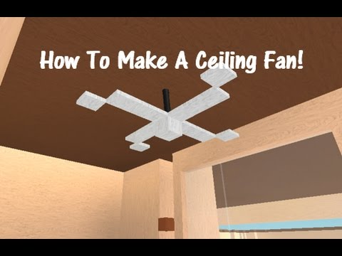 How to make a ceiling fan lumber tycoon 2 youtube mozeypictures Gallery