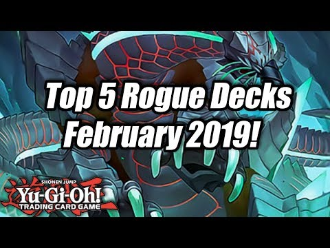 Yu-Gi-Oh! Top 5 Rogue Decks for the February 2019 Format!