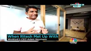 CNBC covers Dr Ritesh Maliks journey of selling Innov8 Coworking to OYO & launch of Innov8 Old Fort