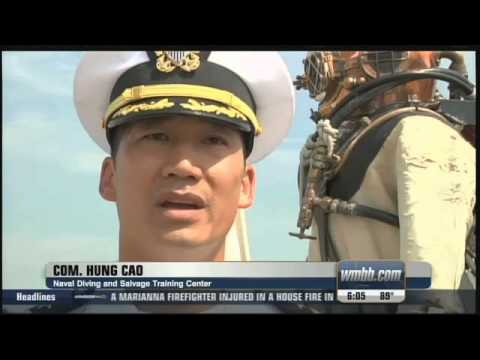 Commander Hung Cao - Change Of Command