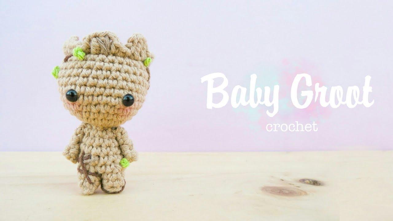 Baby Groot Amigurumi tutorial (DIY) - YouTube