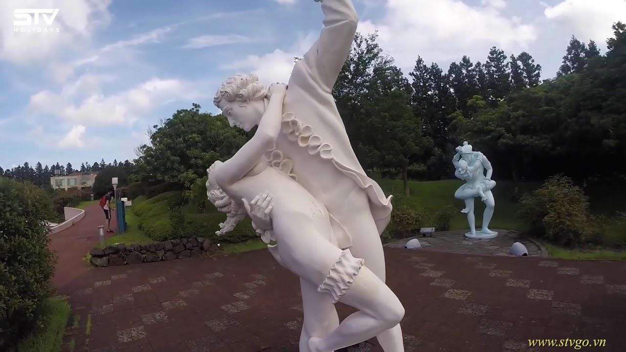 Cười nghiêng ngả một vòng khám phá công viên tình yêu  Loveland- Jeju