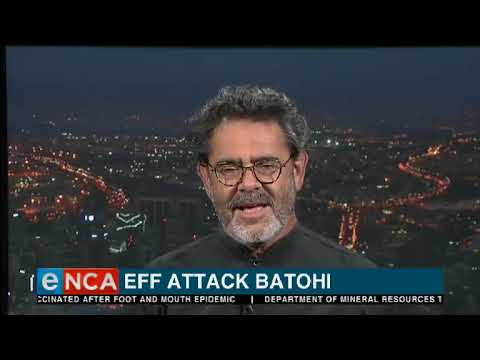 Tonight with Jane Dutton | EFF attacks Batohi | 4 February 2019