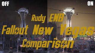 rudy ENB Fallout New Vegas Comparison On GameScape