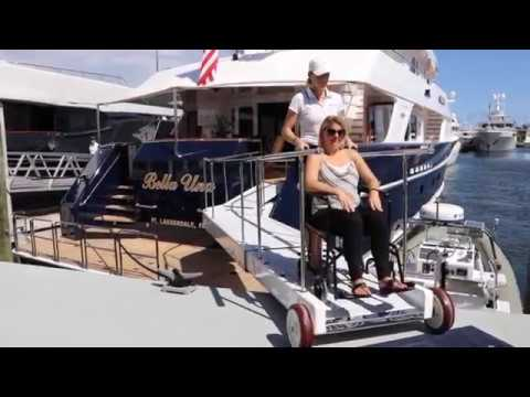 Motor Yacht Bella Una Wheelchair friendly with elevator