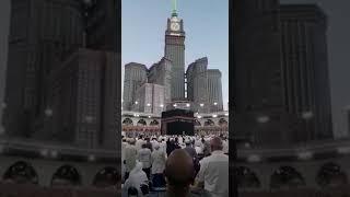 Azan in Masjid al haram Makkah Mukarramah