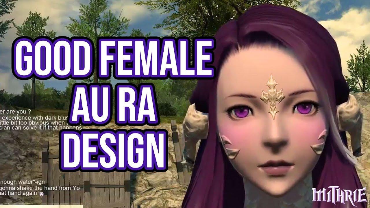 FFXIV 3 0 0594 Female Au Ra Design
