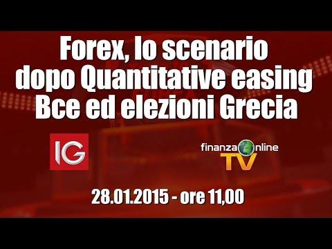 Forex, lo scenario dopo Quantitative easing Bce ed elezioni Grecia