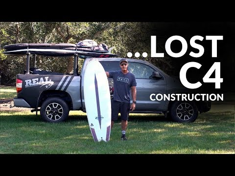 ...Lost Surfboards C4 Construction Overview