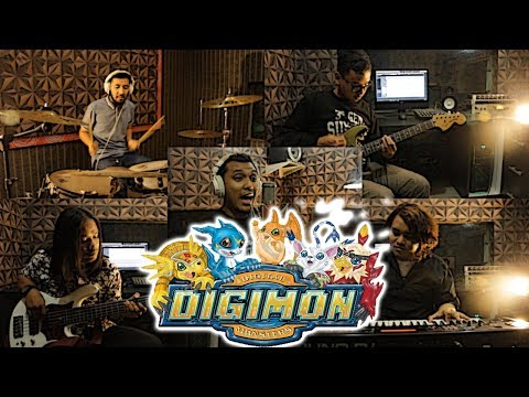 Opening Digimon Adventure (Butterfly) デジモンアドベンチャー Cover by Sanca Records