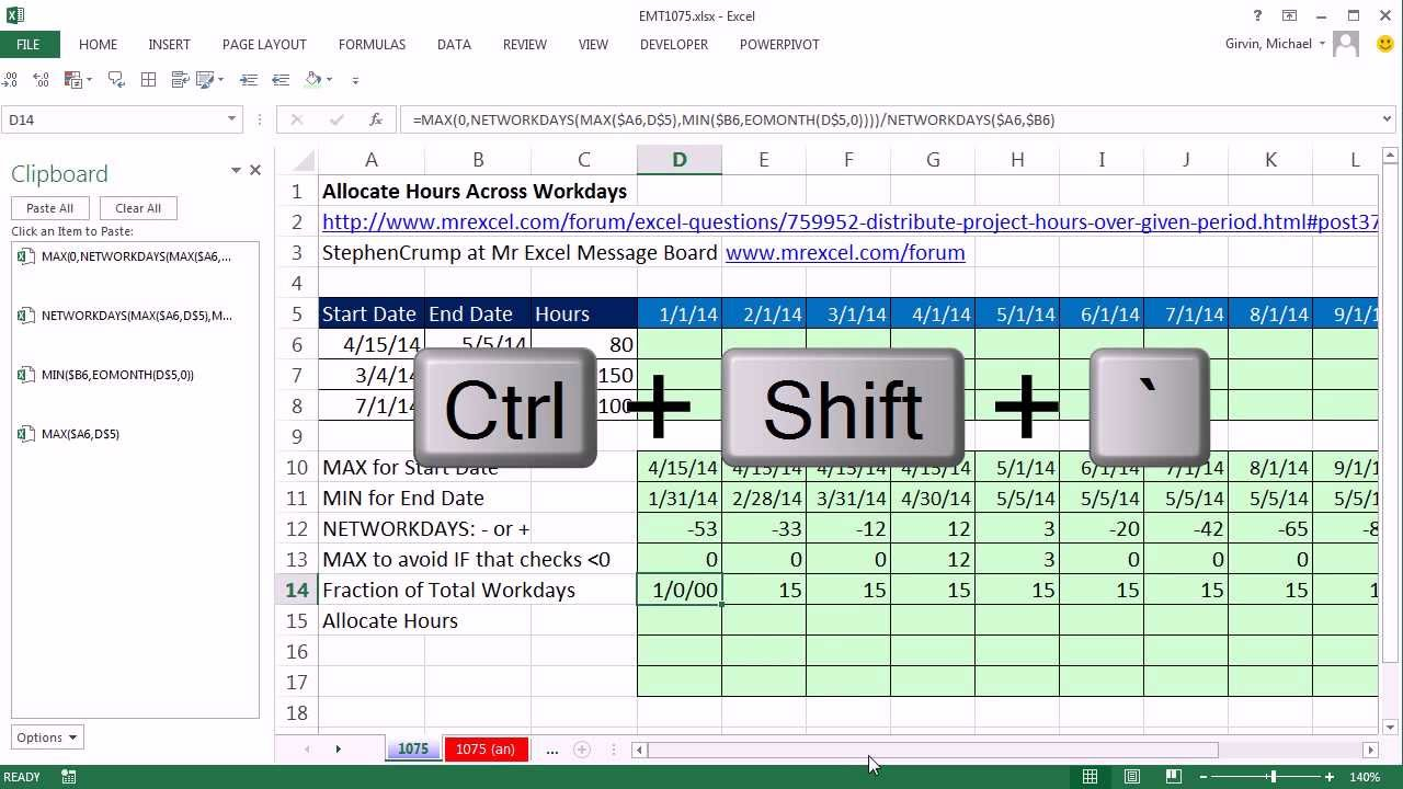how to add workdays to a date in excel
