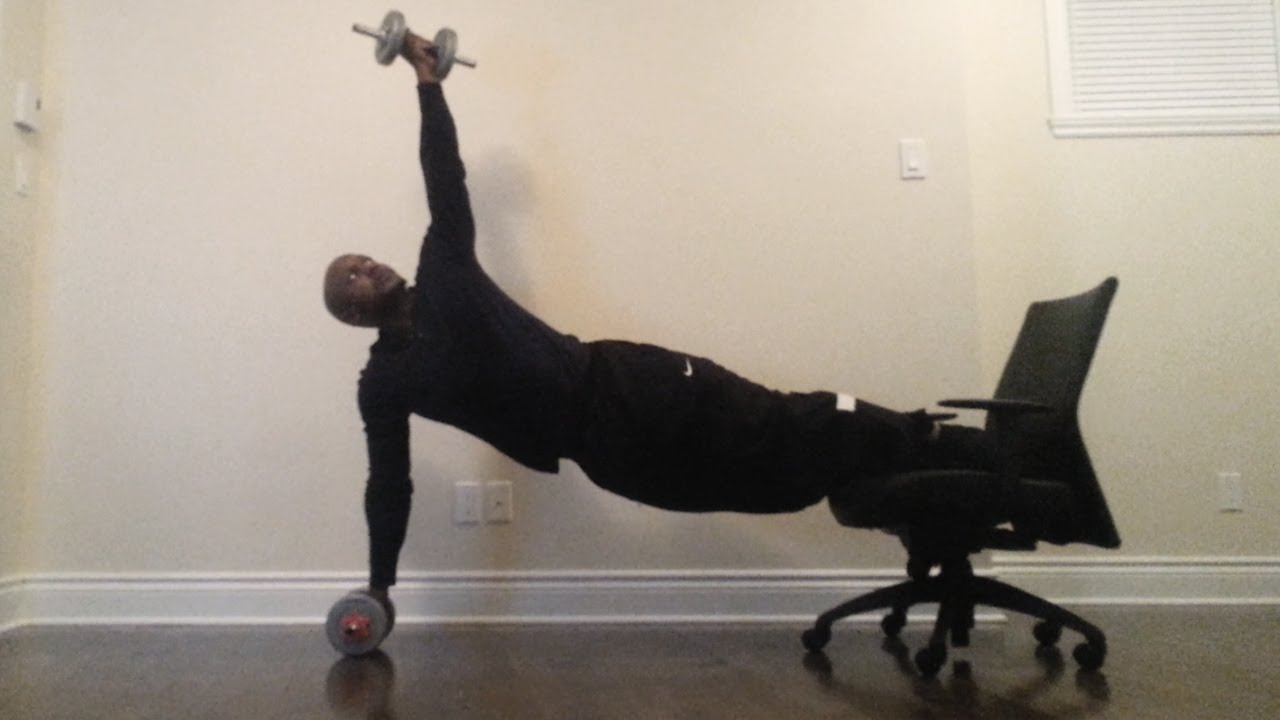 Office Chair Exercises Seat Replacement 39 Calisthenics Workout With An Youtube