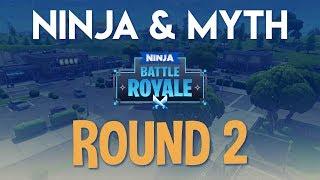 Ninja Myth Round 2 Fortnite Battle Royale Gameplay