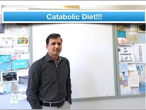 Catabolic Diet (Combination of Ketogenic Diet and Gluconeogenic Diet)
