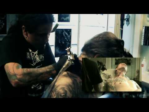 Tattoo Session With Erik Legion Devian Youtube
