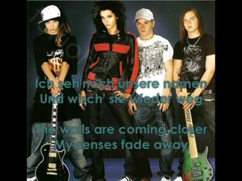 rette mich.with official lyrics in english and in german- tokio hotel