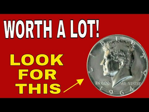 1964 Kennedy Half Dollars! Valuable Kennedy Half Dollars To Look For!
