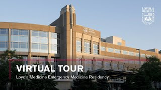Take a virtual tour of loyola university medical center's emergency medicine residency program. explore the clinical and patient areas, conference learni...