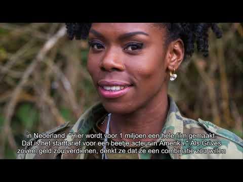 Actrice Imanuelle Grives denkt alleen al door salaris aan internationale carrière