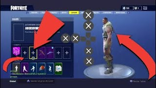 GLITCH // HOW TO REMOVE HIS SAC A DOS Fortnite -PS4,XBOX,SWITCH,PC,ETC...