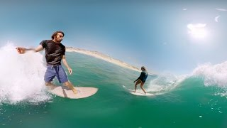 GoPro Surf: VR Party wave with Dave Rastovich and Steph Gilmore thumbnail