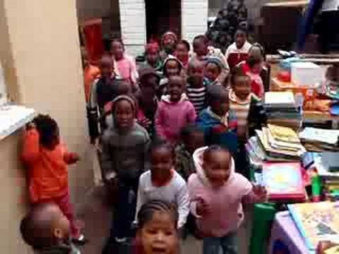 TRG Happy Day Preschool in Soweto Songs Part I