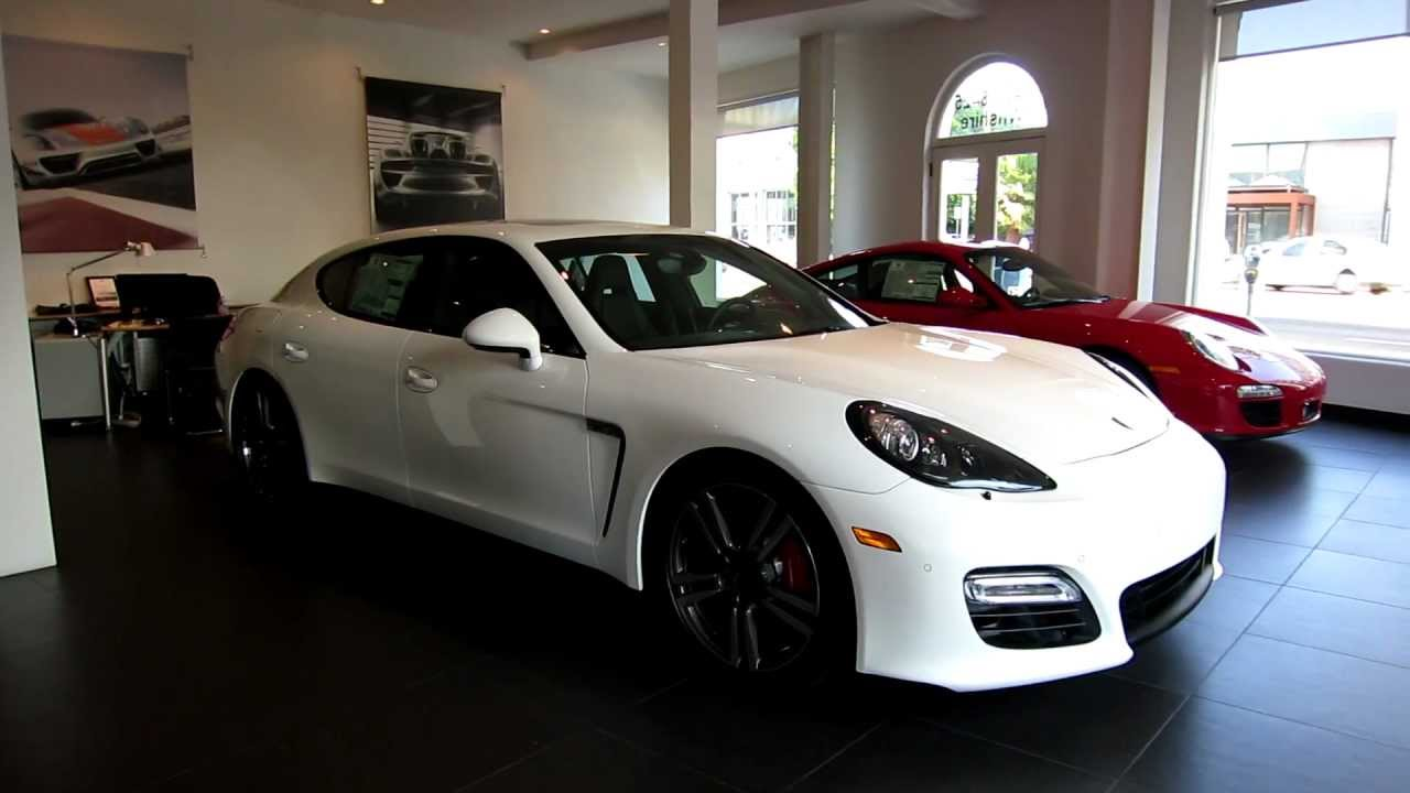 2013 porsche panamera gts white black full leather with ventilation in beverly hills for sale youtube