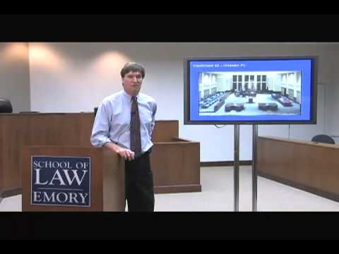 Technology in the Courtroom -  Prof. Paul Zwier, Emory University School of Law