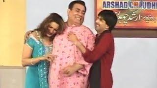 Nasir Chinyoti | Sajan Abbas | Saima Khan - Funny Stage Drama Clip