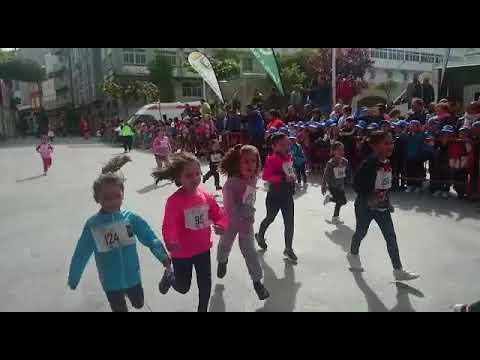 Uns 600 nenos vilalbeses participan na IX Carreira das Letras Galegas