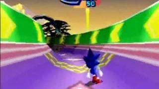 Sonic 3D Blast Saturn version - Part 1 (Opening/Green Grove Act 1)