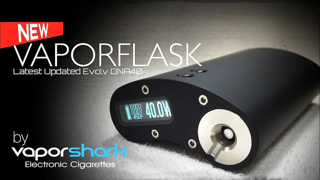 vaporflask dna40 by vaporshark