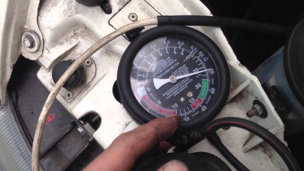 ford transit проверка производительности вакуумного насоса