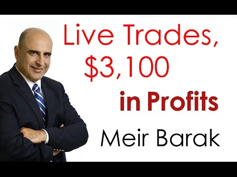 Live Day Trading - $3,1000 in Profits
