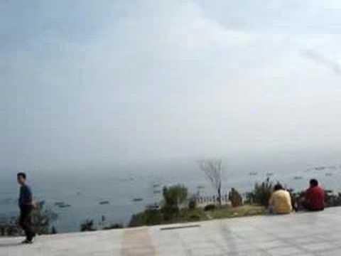 beach-view-in-dalian-trip,-china