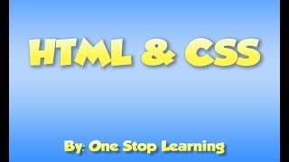 How to start web designing ( HTML & CSS ) Lecture 4-B