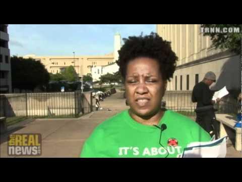 Baltimore Protest Calls For Economic Justice