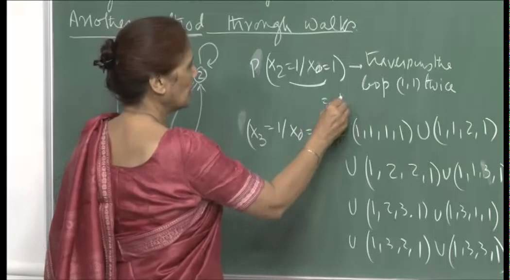 Mod-01 Lec-26 Transition and state probabilities.