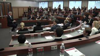 Jamie Dimon, JPMorgan Chase CEO, visits Fisher College of Business