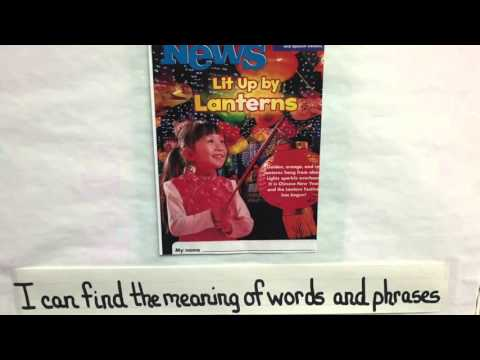 K-2 Curriculum Shared reading and writing