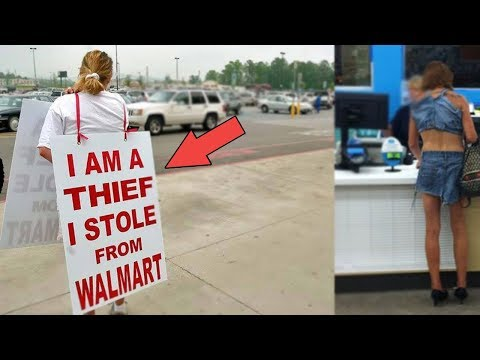 TOP 5 Dumb SHOPLIFTERS CAUGHT on CAMERA STEALING Stuff - Thief Caught on Camera Compilation 2019!
