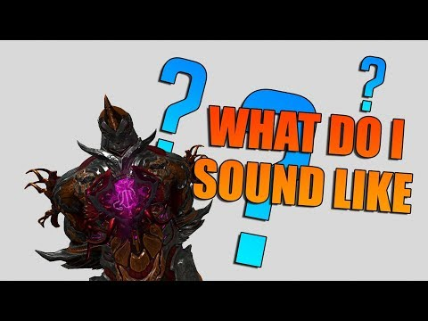 If Warframes Had Voices - What Would They Sound Like? [MALE EDITION] thumbnail